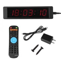 Programmable LED Remote Wall Clock Vprecisely Timer Stopwatch for Fitness Training Malaysia