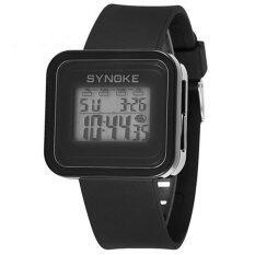 Promotional Brand Synoke Children Jelly Led Watch Boys Girls Fashion Sports Led Digital Watch 66156(Black) Malaysia