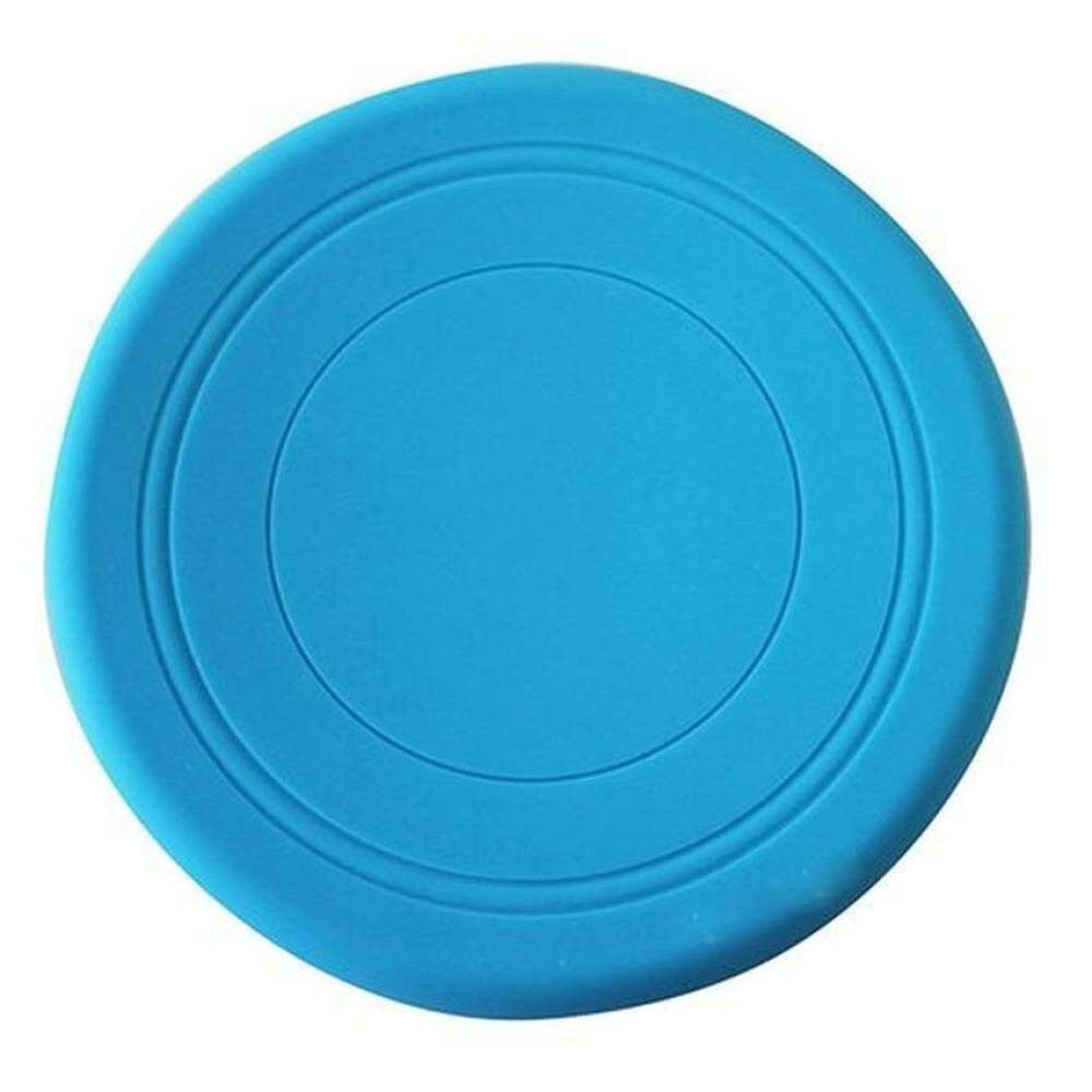 QJQ 1 pcs Soft Silicone Flying Disc Frisbee Pet Dog Outdoor TrainingFetch Toy