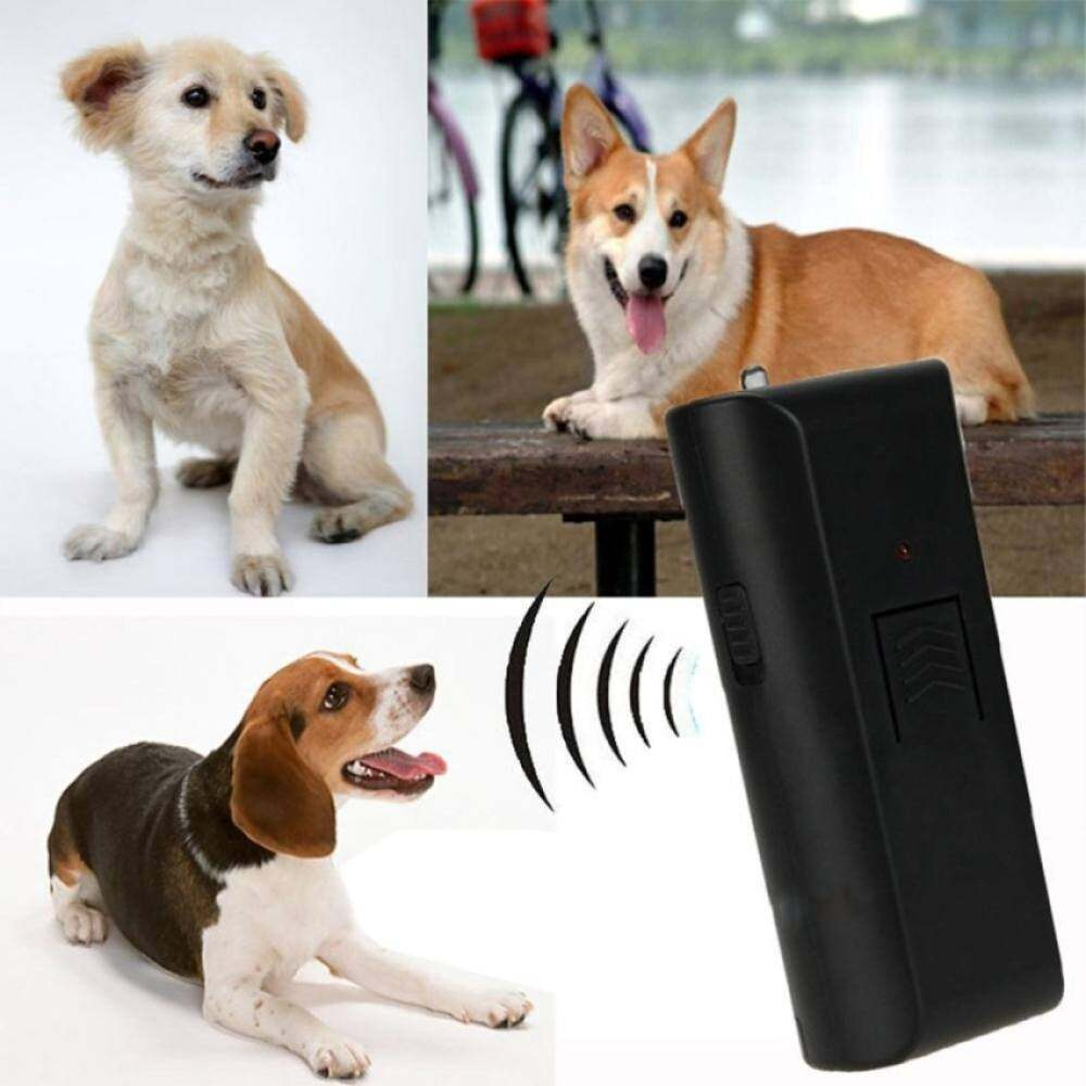 QJQ Anti-Bark Ultrasonic Aggressive Dog Pet Repeller Barking Stopper Deterrent Train