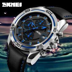 Quartz Mens Watches Top Brand Luxury Famous Military Watch Leather Men Digital Sports Waterproof Business Watches 9156 Malaysia