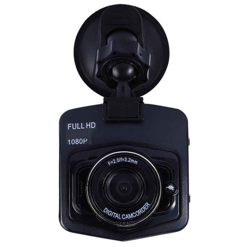 Rh-H400 Full HD 1080 P Kamera Mobil Mini Detektor DVR Parkingrecorder Video Registrator Camcorder 170 Derajat Sudut (Hitam) -Intl