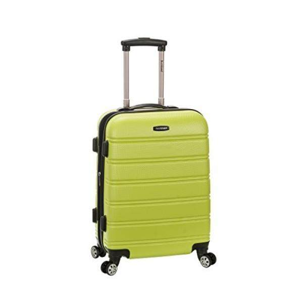 33fdd1d5e1b Bandingkan Rockland Melbourne 20 Inch Expandable Abs Carry On Luggage,  Lime, One Size baru - Hanya RM909