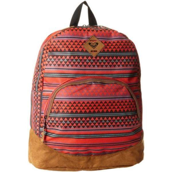 Roxy Juniors Fairness 6 Backpack, Cherry Red, One Size - intl