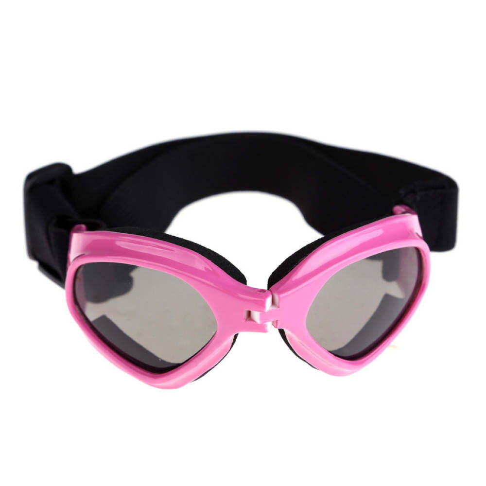 S   F Dog Pet UV Sunglasses Eye Wear Protection Goggles SunGlasses Pink 3e755223d8