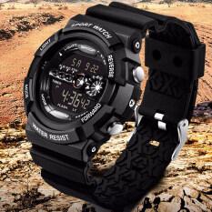 SANDA Brand Luxury Men Wrist Watches Sports Digital LED Military Wristwatches Waterproof Outdoor Fashion Casual Malaysia