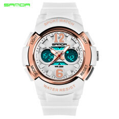 SANDA Brand Watch Casual Fashion Quartz Watches Mens Sports Digital Watch Kids Girl Shock Resistant Waterproof Clock Women Relogio Masculino 757 Malaysia
