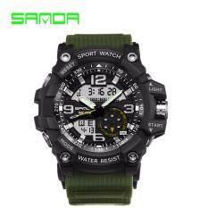 353a02b6d74dd GTE SANDA Brand Watch Shock Original Brand Big LED Screen Multi-functions Digital  Waterproof Sport