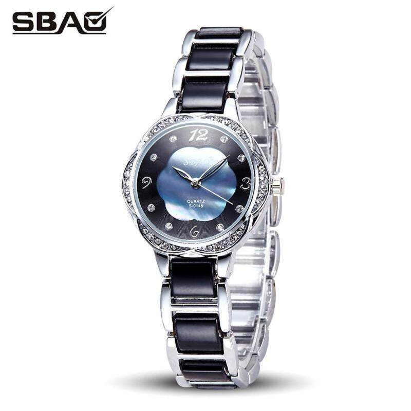 SBAO The New Elegant Fashion Mother Of Pearl Dial Bracelet Watch Malaysia