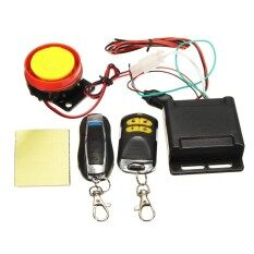LB Scooter Car High Power Siren Security Alarm System Remote Control 12V Anti-theft Motorcycle Bike Specification:Double remote control