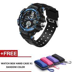 Sectra Fashion Watch Men G Style Waterproof Sports Military Watches (Blue) Malaysia