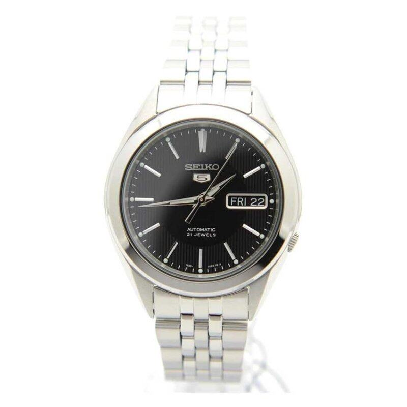 Seiko 5 SNKL23K1 Automatic Black Dial Stainless Steel Mens Analog Casual Watch Malaysia