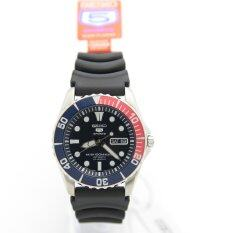 Seiko 5 SNZF15J2 Analog 100M Sport Black Rubber Mens Automatic Watch Malaysia