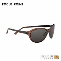 7d0c9ade8e45 Serengeti Giustina 7826 Crystal Dark Brown Polar PhD CPG Lenses Sunglasses
