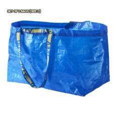 Giá bán Bộ 3 Túi Xác Thực IKEA Frakta-Túi (Lớn) (Xanh Dương)
