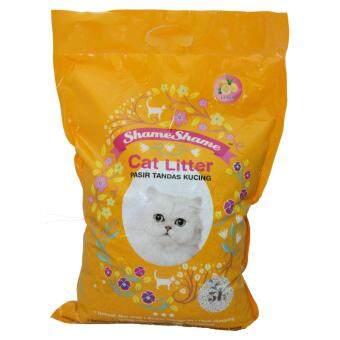 ShameShame Cat Litter 5L x 4 packets - Lemon
