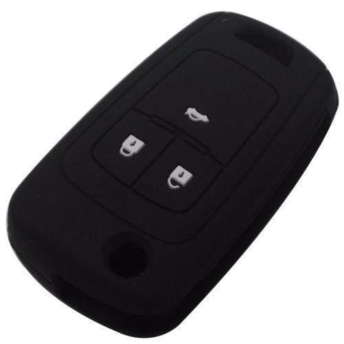 Kunci Mobil Silikon Penutup Case untuk Chevrolet Cruze 2013 Spark Onix Silverado-Intl