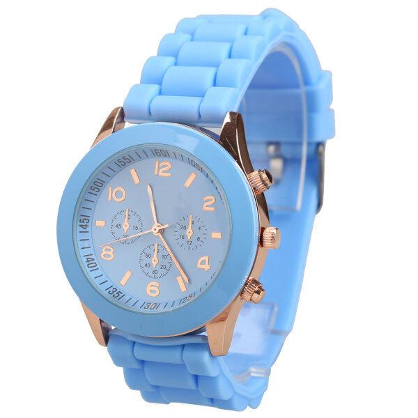 Silicone Jelly Quartz Sports Wrist Watch Malaysia