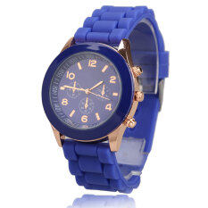 Silicone Jelly Quartz Sports Wrist Watch Malaysia