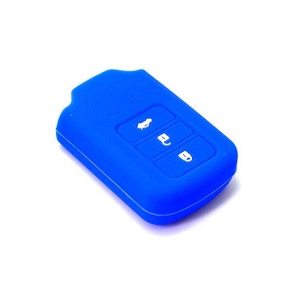 Honda City / Accord / CRV 2014-2018 Keyless Remote Car Key Silicone Cover Case (Dark Blue)
