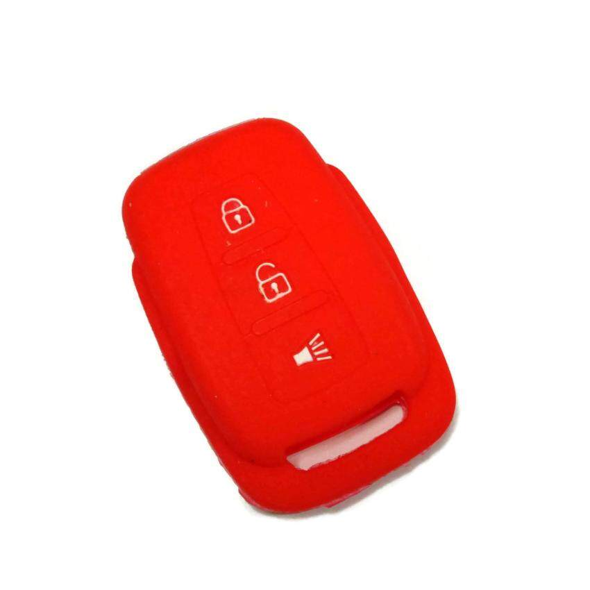 Silicone Key Cover Case Compatible with Proton Exora Exora BOLD (Red)