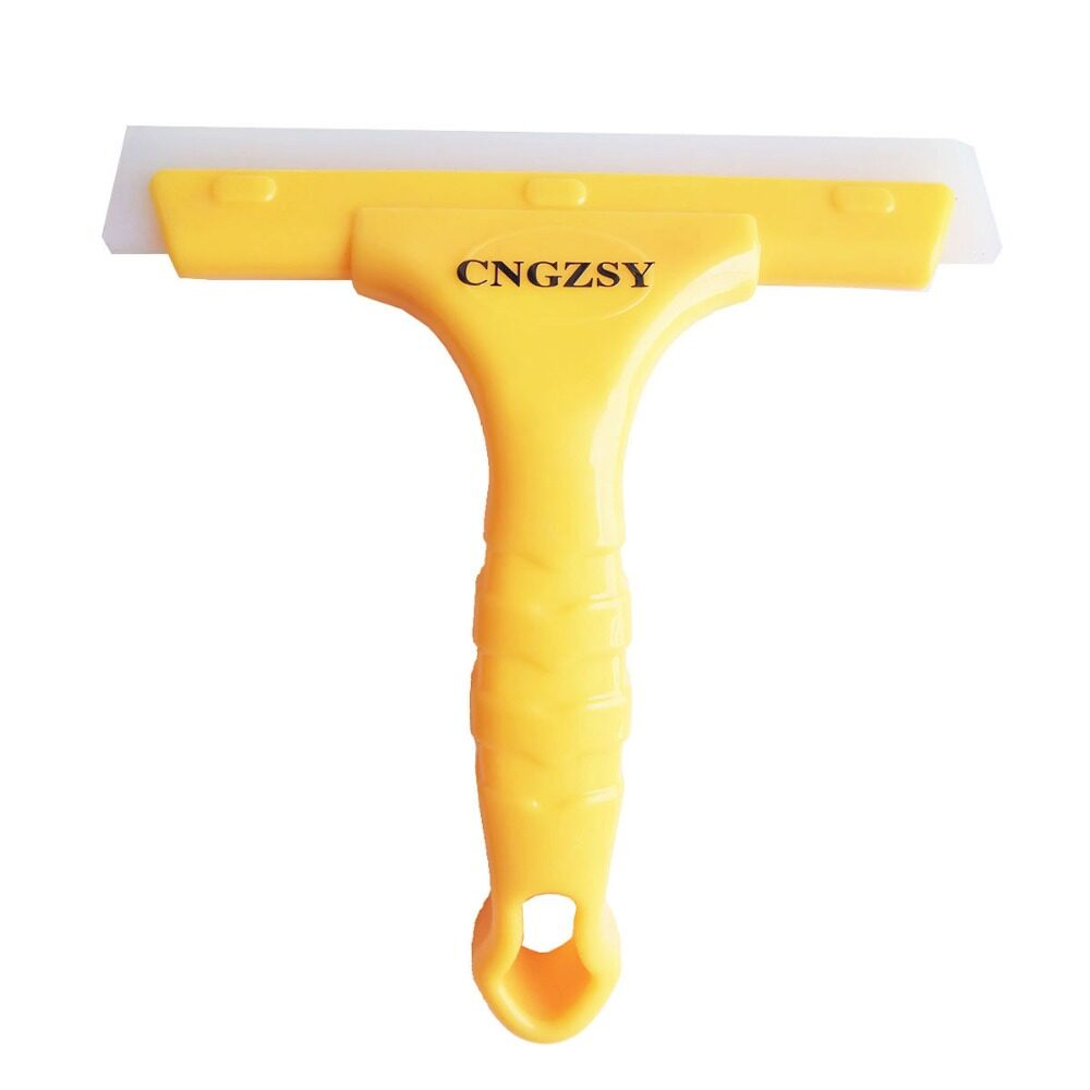 Silicone Water Wiper Scraper Blade Squeegee Car Vehicle Soap Cleaner Windshield Window Washing Cleaning Accessories,yellow By Kerno Store.