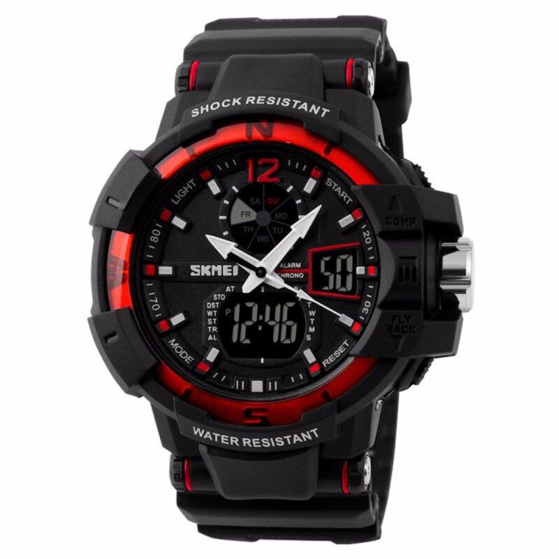 SKMEI 1040 Men Man Outdoor Sports Digial Watch(Red) Malaysia