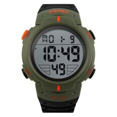 Skmei 1068 100%Band New and High Quality Sport Waterspoof Wristwatch Men Army Green Malaysia