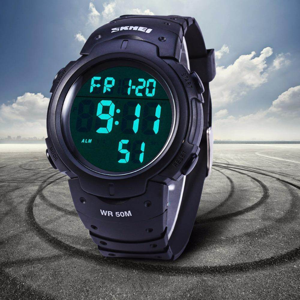 Buy Sell Cheapest Romantic Simiou Skmei Best Quality Product Deals Jam Tangan Wanita Digital 1108 Black Water Resistant 50m 1068 Military Army Led Watch Stopwatch Alarm Day Date Function
