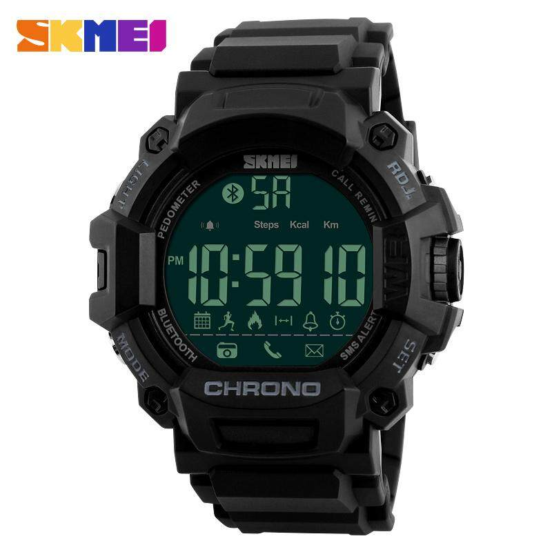Price Skmei 1249 50M Waterproof Smart Watches Calorie Chronograph Bluetooth Sport Watch Black Intl Skmei New