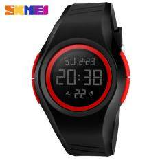 SKMEI 1269 Men and Women General Outdoor Sports Electronic Watches  Red Malaysia