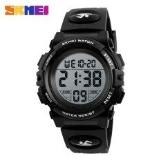 SKMEI  Brand watch Children Sports Digital Wristwatches LED Shock Resistant 50M Waterproof Alarm For Students Military Watch PU 1266 Malaysia