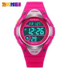 Skmei Children Outdoor Sports Watches Boy Alarm Digital Watch Kids Stopwatch Waterproof Girls Wristwatches Clock 1077 By Star Store.
