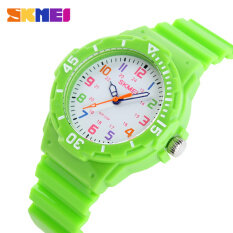 SKMEI Brand Watch Fashion Casual Children Watches 50M Waterproof Quartz Wristwatches Jelly Kids Clock boys Hours girls Students 1043 Malaysia