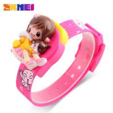 SKMEI Brand Watch Girls Children Digital Wristwatches Fashion Strap Time Display Lady Clocks Kids Cartoon Dial Watches Relogio Relojes 1240 Malaysia