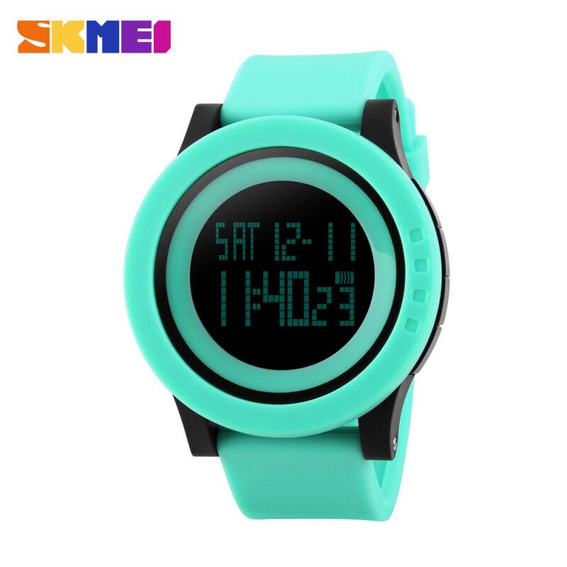 Nơi bán SKMEI Brand Watch LED Sports Watches Fashion Silicone Strap 50M Waterproof Military Digital Wristwatches Relogio Masculino Boys child 1142 - intl