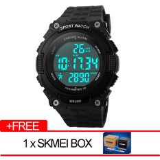 SKMEI Brand Watch Men Heart Rate Monitor Fitness Tracker Healthy Fit Pedometer Digital Watch 1112 Malaysia
