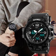 SKMEI Brand Watch  New Fashion Men Sports Watches Men Quartz Analog LED Digital Clock Man Military Waterproof Watch Relogio Masculino 1155B Malaysia