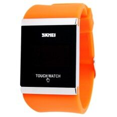 SKMEI Brand Watch new fashion waterproof silicone jelly LED touch screen electronic digital watches Unisex Students Casual Watches Women 0983 Malaysia