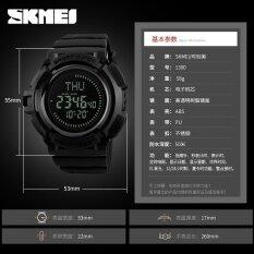 600dde9a4f9 SKMEI Brand Watch Outdoor Compass Sports Watches Men Hiking Countdown  Chrono Digital Waterproof Wristwatches Male Relogio Masculino1300 Malaysia