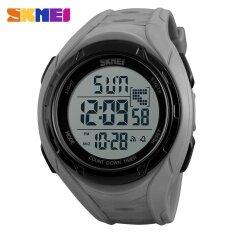 SKMEI  Brand Watch Outdoor Sports Men Watches Countdown Chronograph Alarm Waterproof Digital Wristwatches Clock Male Relogio Masculino 1313 Malaysia