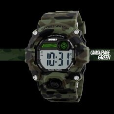 SKMEI Brand Watch Talking Time Digital Men Casual Electronics Sport Watch 1162 Malaysia