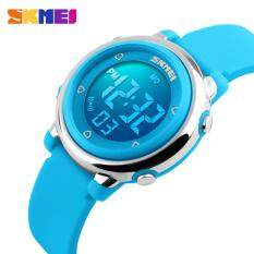 SKMEI Children watch LED Digital Sports Relojes Mujer Boys girls fashion Kids Cartoon Jelly Waterproof Relogio Feminino 1100 Malaysia