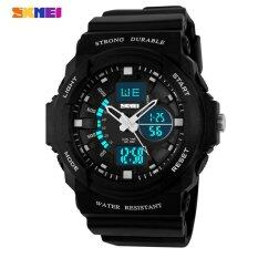 SKMEI Children Watches Digital Quartz Electronic LED Chronograph Jelly Silicone Swim Dive Watch Kids Wristwatches Malaysia