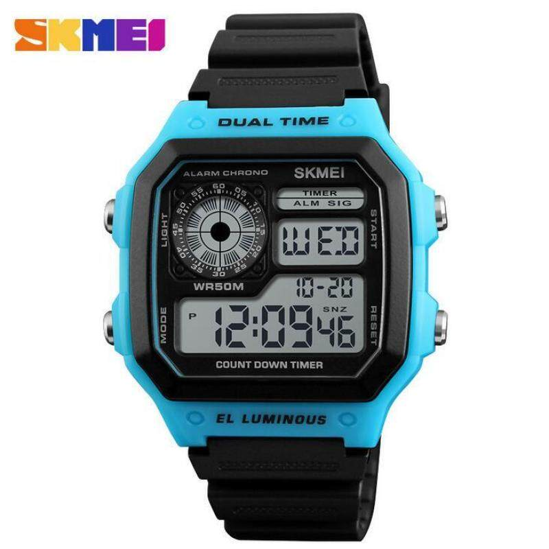 SKMEI Military Outdoor Sport Watch Men Top Brand Luxury Famous Electronic LED Digital Wrist Watches Male Clock For Men 1299 Malaysia