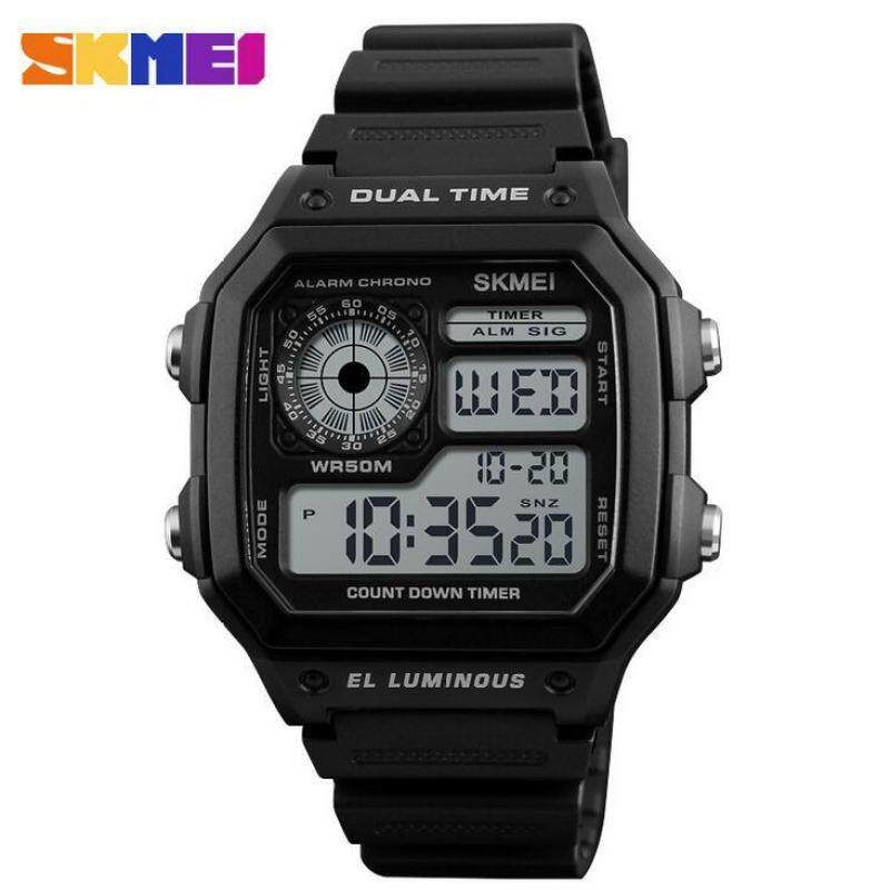 Military Outdoor Sport Watch Men Top Brand Luxury Famous Electronic LED Digital Wrist Watches Male Clock For Men 1299 Malaysia