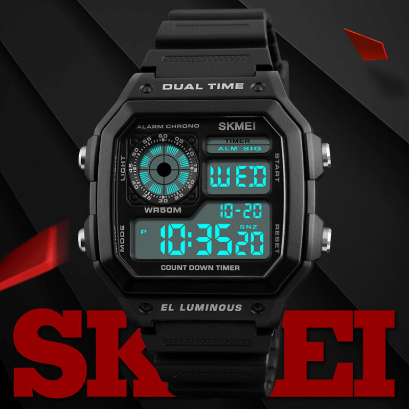 SKMEI  Military Sport Watch Men Top Brand Luxury Famous Electronic LED Digital Wrist Watches Male Clock For Men Relogio Masculino Malaysia