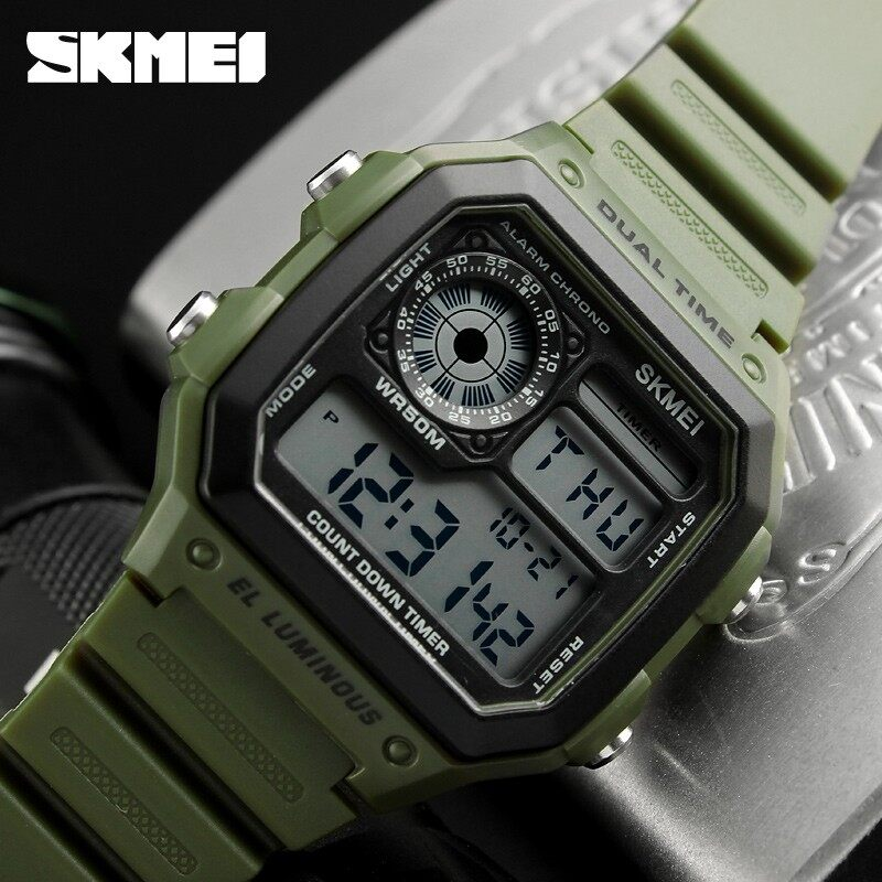 SKMEI Military Sport Watch Men Luxury Famous Electronic LED Digital Wrist Watches Male Clock For Men Relogio Masculino - intl
