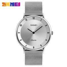 SKMEI Top Luxury Brand Men Quartz Watches Ultra Thin Stainless Steel Business Watch Waterproof Casual Fashion Wristwatch 1264 Malaysia