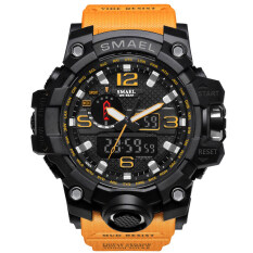 SMAEL Brand Watch 1545 Mens Watches New Style Brand Men LED Digital Quartz Watch Waterproof All Black Military Sport Man Clock Relogio Masculino Malaysia